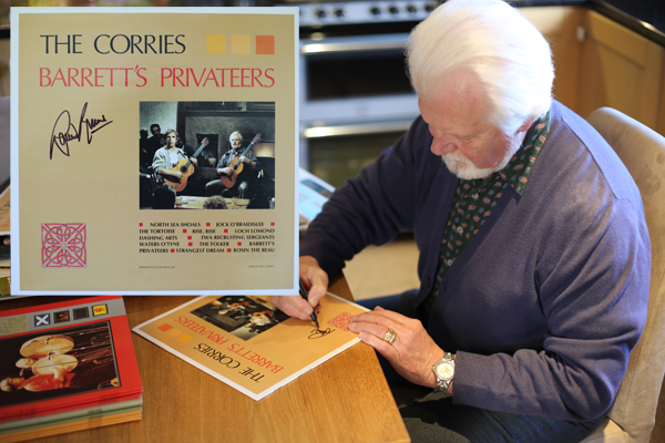 Barrett's Privateers LP hand signed