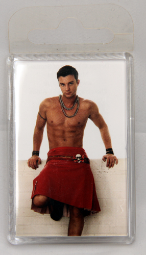 Giant redkilt fridge magnet