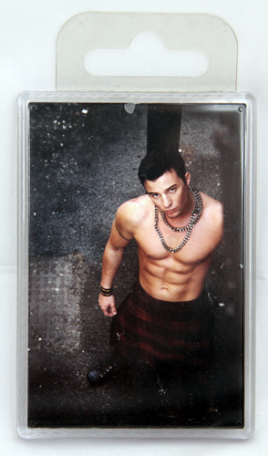 Giant sixpack fridge magnet