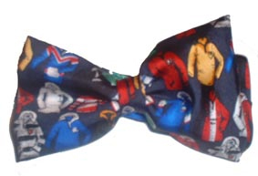 Rugby shirts silk bow tie
