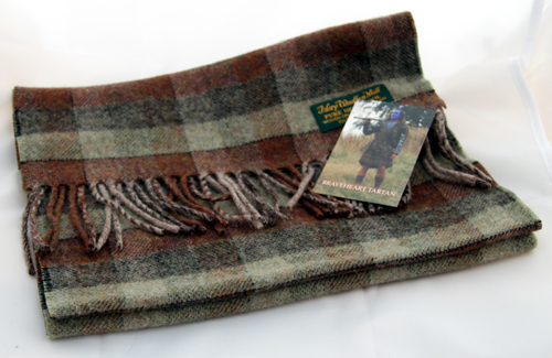 The Original Braveheart Tartan Scarf