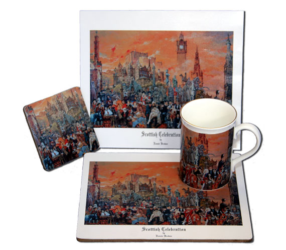 Scottish Celebration Bone China Mug