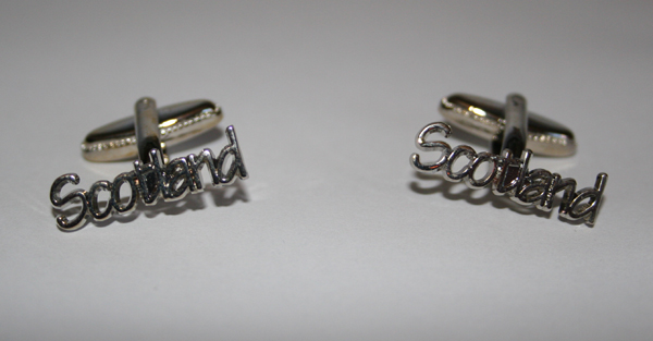 Scotland cufflinks (metal)