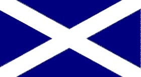 St. Andrews Cross Flag 5 feet