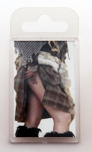 Standard highland tattoo fridge magnet