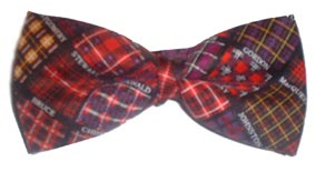 Tartans Silk bow tie