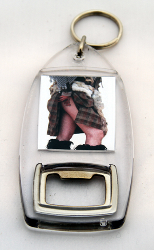 Highland Tattoo keyring / bottleopener