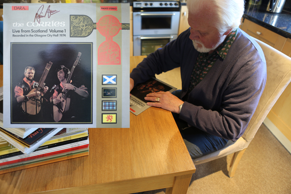 Live From Scotland Volume 1 LP hand signed