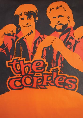 Limited edition Corries concert poster (number 1)
