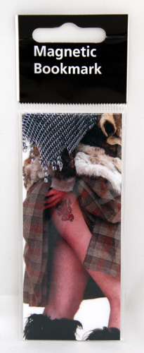 Highland Tattoo magnetic bookmark