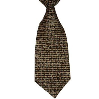 Flower of Scotland Silk Tie