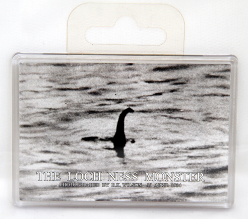 Giant nessie fridge magnet