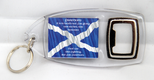 Declaration of Arbroath keyring / bottleopener