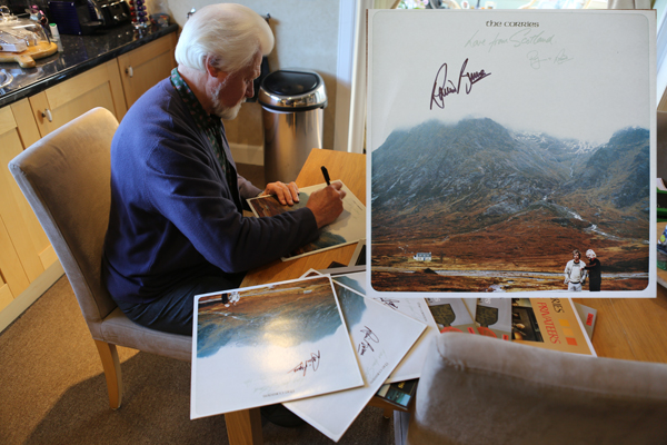 Love From Scotland LP hand signed