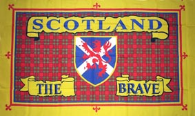 Scotland the Brave Flag 5 feet