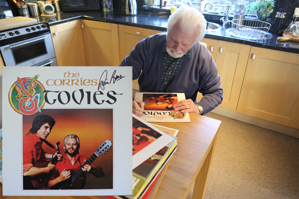 Stovies LP hand signed